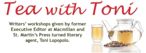 tea with toni writers workshops with toni lopopolo