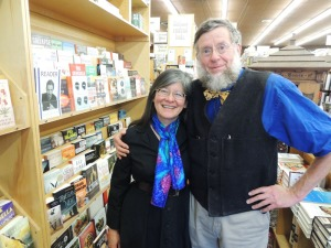 Author Robin and Husband Bruce